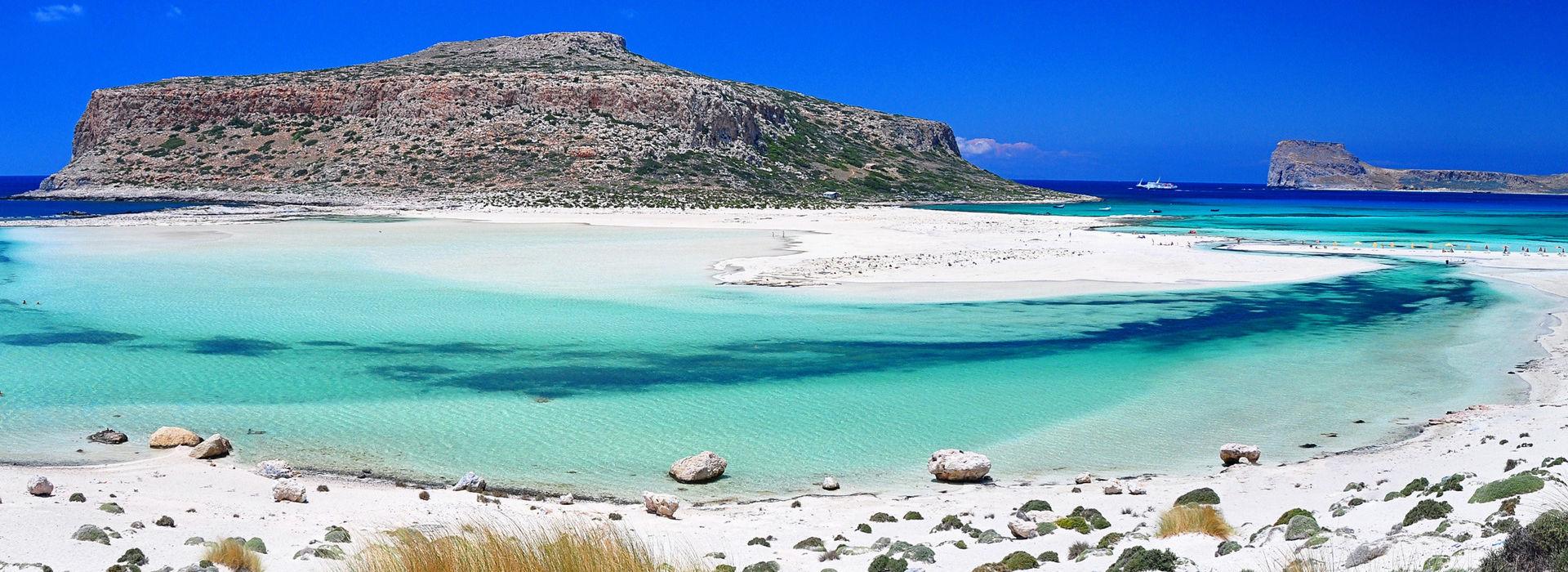 Die Insel Gramvousa und die Lagune von Balos
