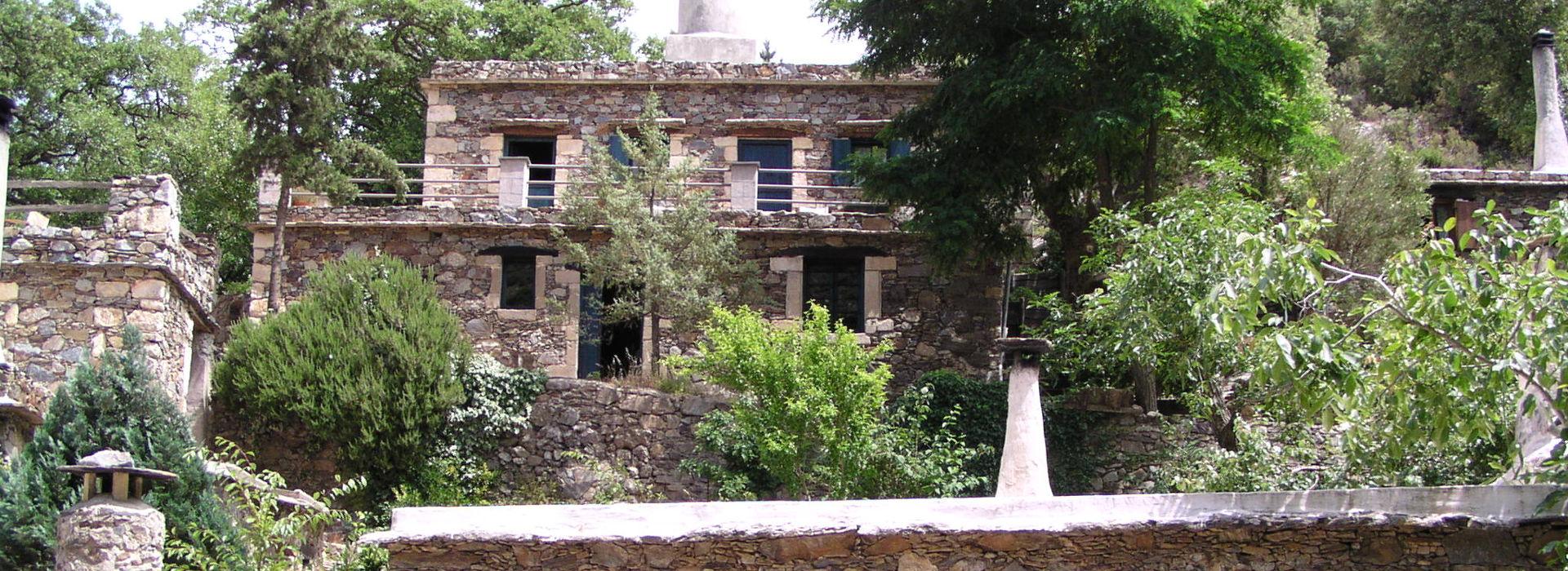 Restored Village of Milia